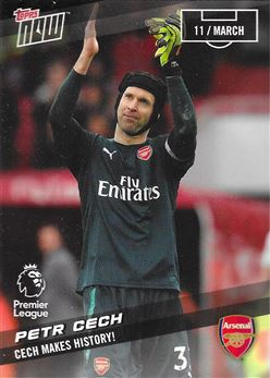 2017-18 #136 Petr Cech - Arsenal : Cech Makes History!