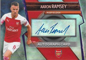Aaron Ramsey Autograph