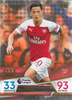 Mesut Ozil Base Orange