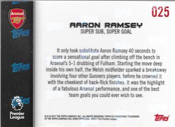 2018-19 #25 Aaron Ramsey - Super Sub , Super Goal