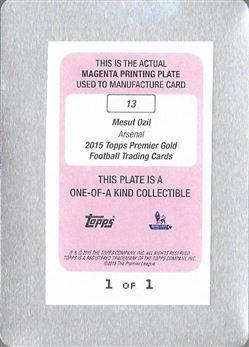 Mesut Ozil Base Printing Plate Magenta