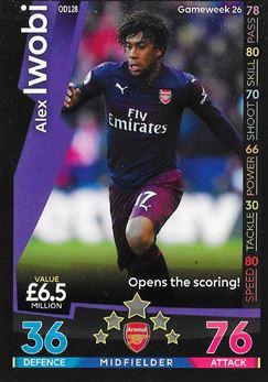 Week #26 - Alex Iwobi - Opens the scoring!