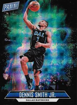 2018 Panini Father's Day Panini Collection Hyperplaid #5 Dennis Smith Jr.