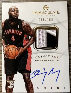 2012-13 Immaculate RPA