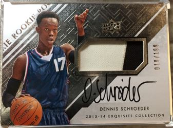 2013-14 Exquisite Collectiion RPA