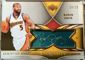 2006-07 Exquisite Scripted Swatches