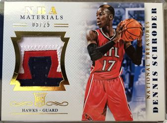 2013-14 National Treasures NBA Materials Patch RC
