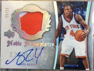 2005-06 Exquisite Noble Nameplates #NMNR