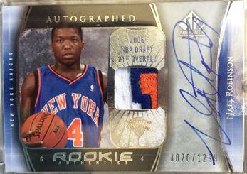 2005-06 SP Authentic Rookie Authentics Autographed